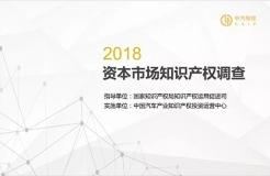 2018資本市場知識產權調查報告(PPT全文)
