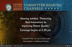 """美国参议院召开""""提升专利质量听证会"""",都提了哪些建议?"""