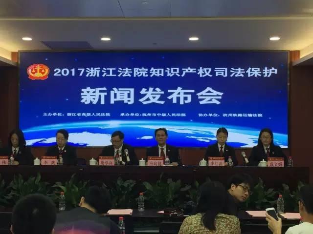 2016年度浙江法院知识产权司法保护十大典型案件