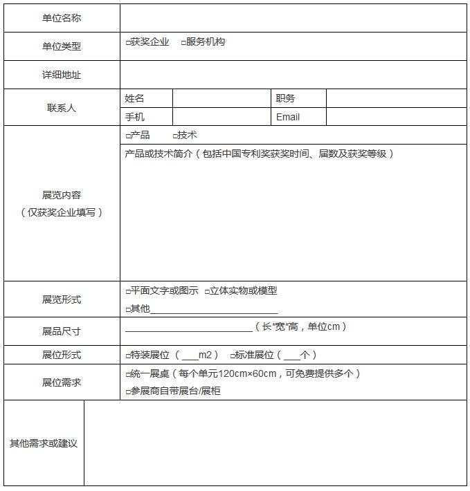 「中国国际知识产权高峰论坛暨中国优秀专利展」举办通知!