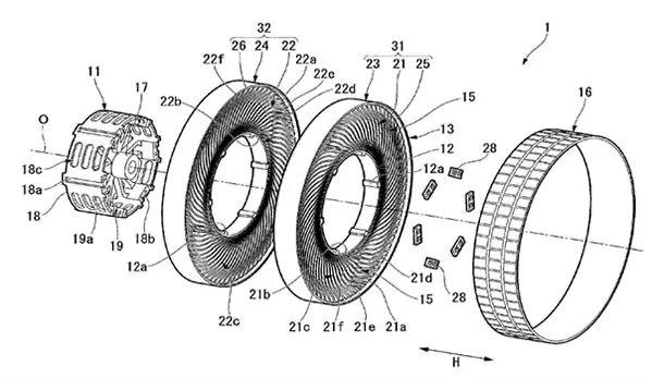 「无空气轮胎」专利分析