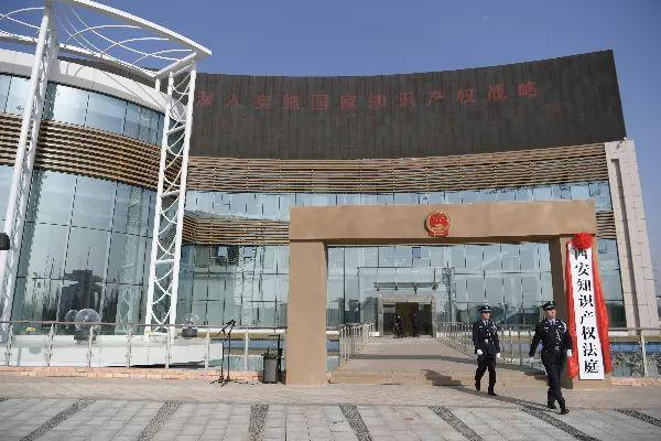 「西北地区首家知识产权法庭」昨日正式挂牌成立!