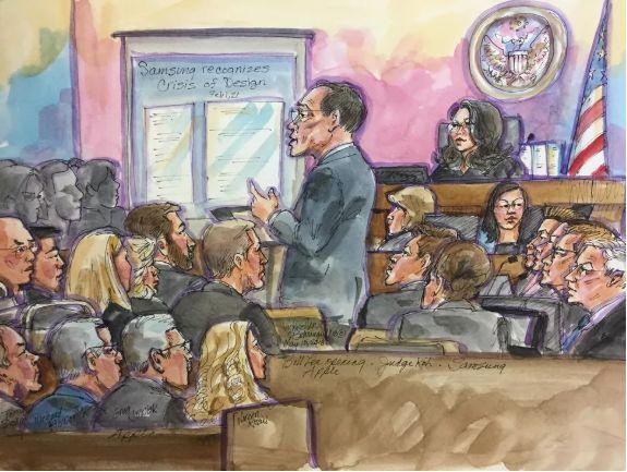 这次索赔10亿美元!苹果诉三星专利侵权开庭审理