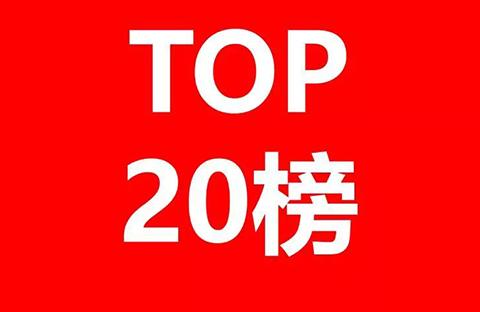 2017年金华市代理机构商标申请量榜单(TOP20)