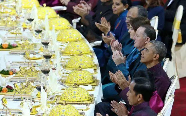 解密APEC国宴上的「国韵黄珐琅彩瓷盘」!