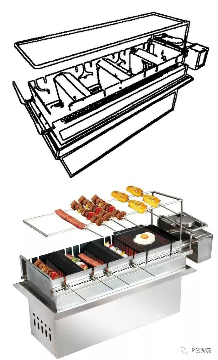 没有烧烤的世界杯是没有灵魂的!自动烧烤架的专利分析!