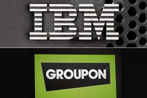 团购在线平台Groupon向IBM支付5700万美元!和解专利侵权指控