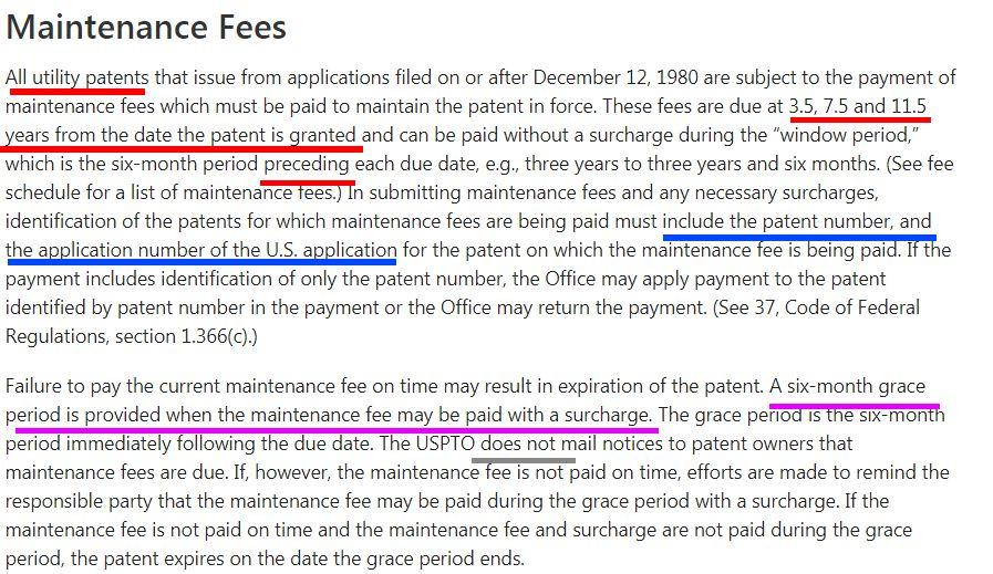 海外申请系列-美国专利授权及年费程序