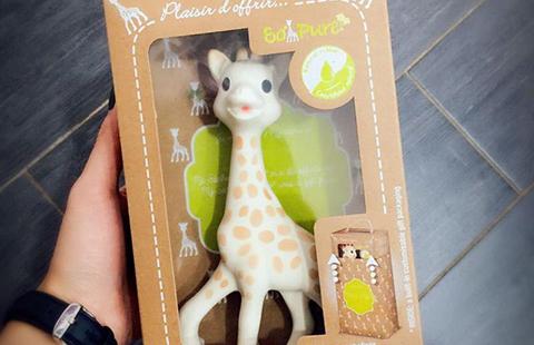 从法国知名童婴品牌Sophie长颈鹿一案,看外观设计的仿冒行为特征
