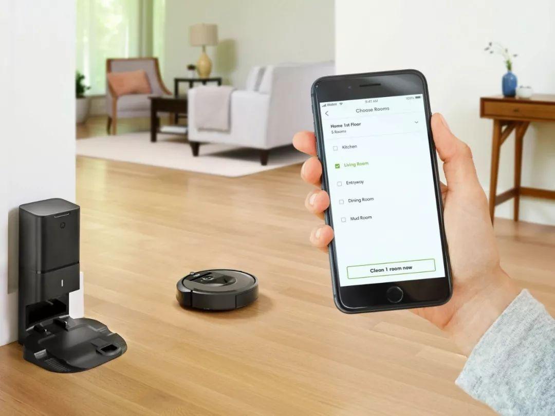 """""""iRobot Roomba i7 +""""扫地机器人专利分析"""