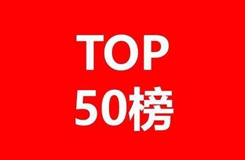 2018年获得美国专利数量前50家中国公司和机构