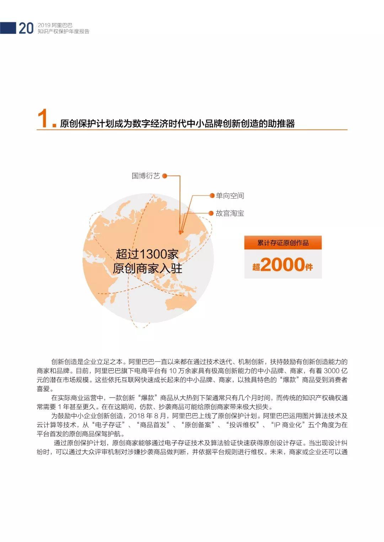 《2018阿里巴巴知识产权保护年度报告》全文发布!