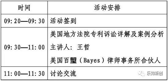 2019年北京海外知识产权维权实训第三期活动(通知)