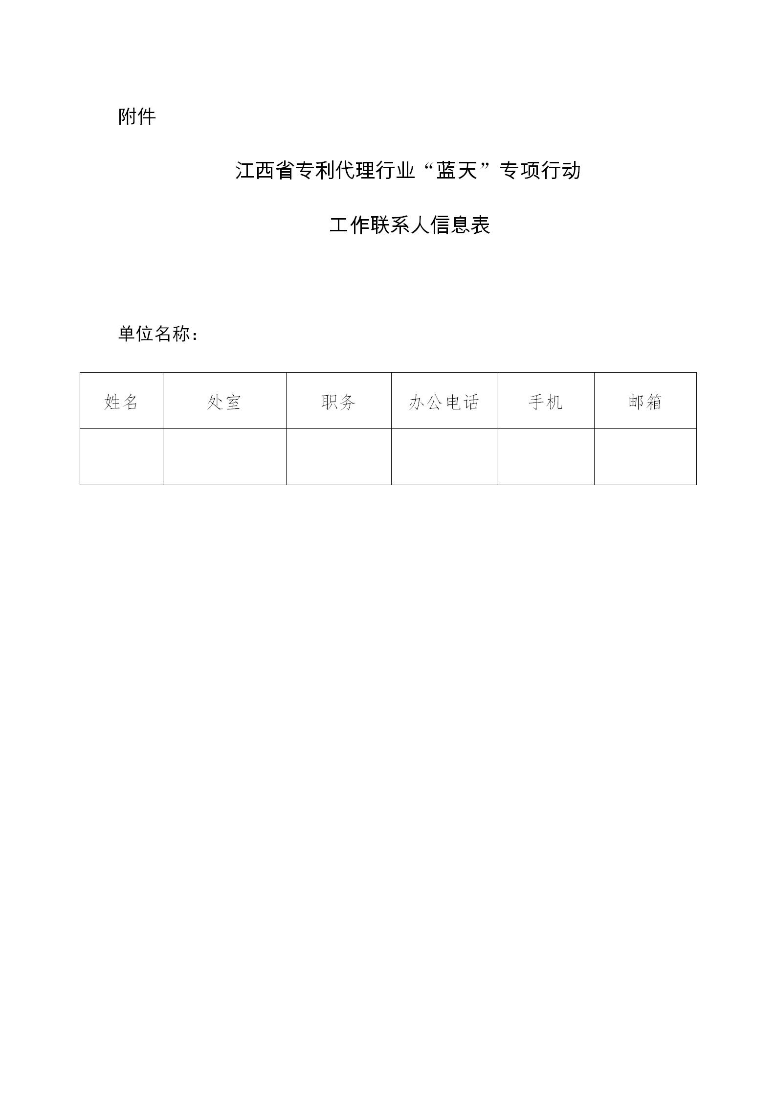 """江西省开展专利代理行业""""蓝天""""专项整治行动"""