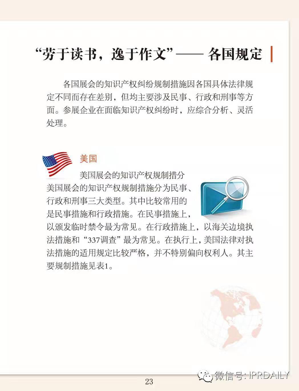 IPRdaily:海外参展知识产权实务指引