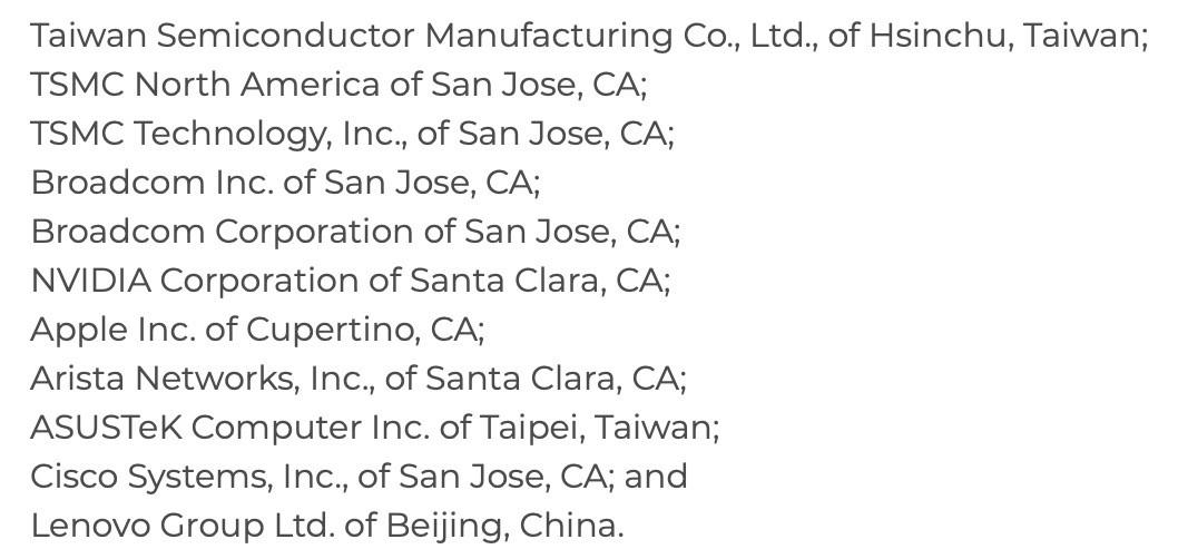 美国启动两起半导体337调查,源自格芯台积电专利纠纷