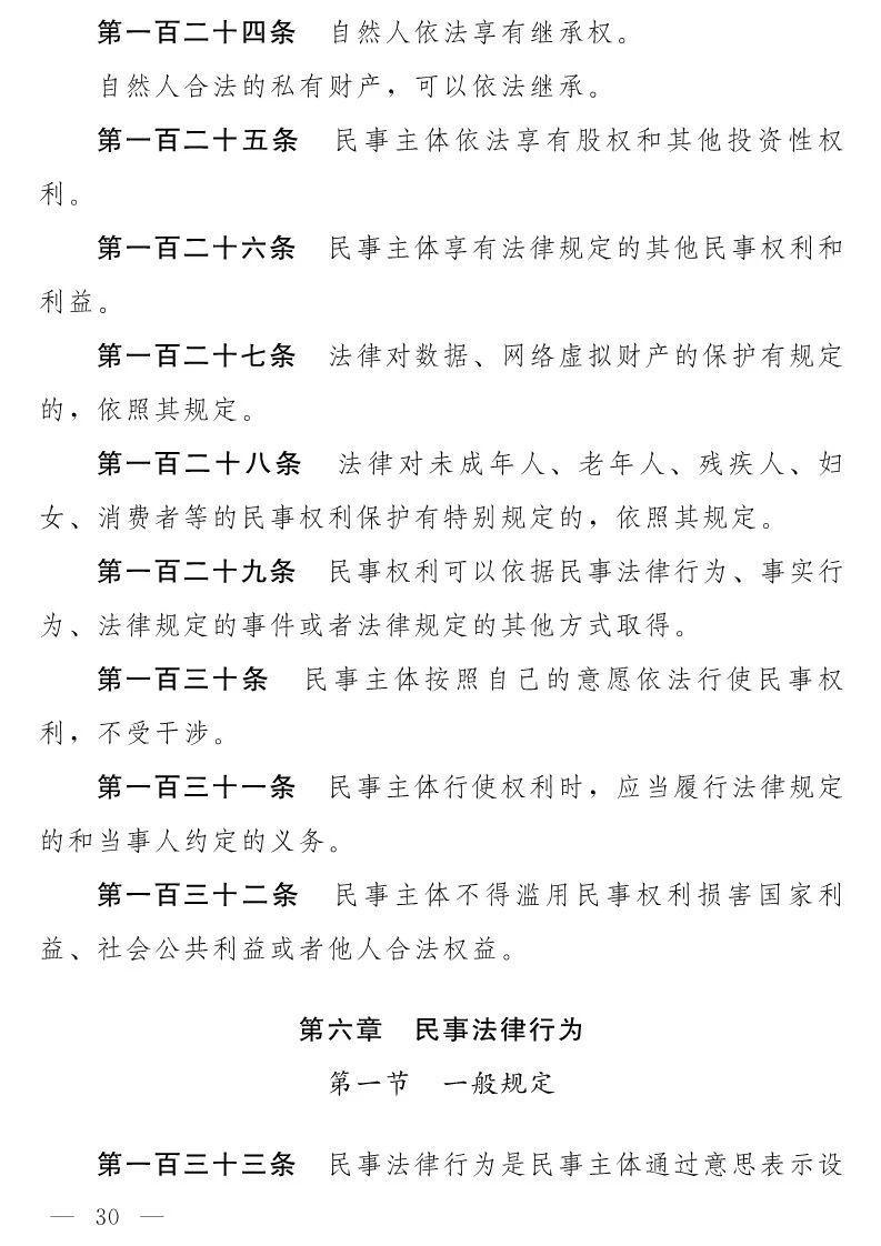 民法典(草案)全文发布!这些知识产权内容值得关注!(附:全文)