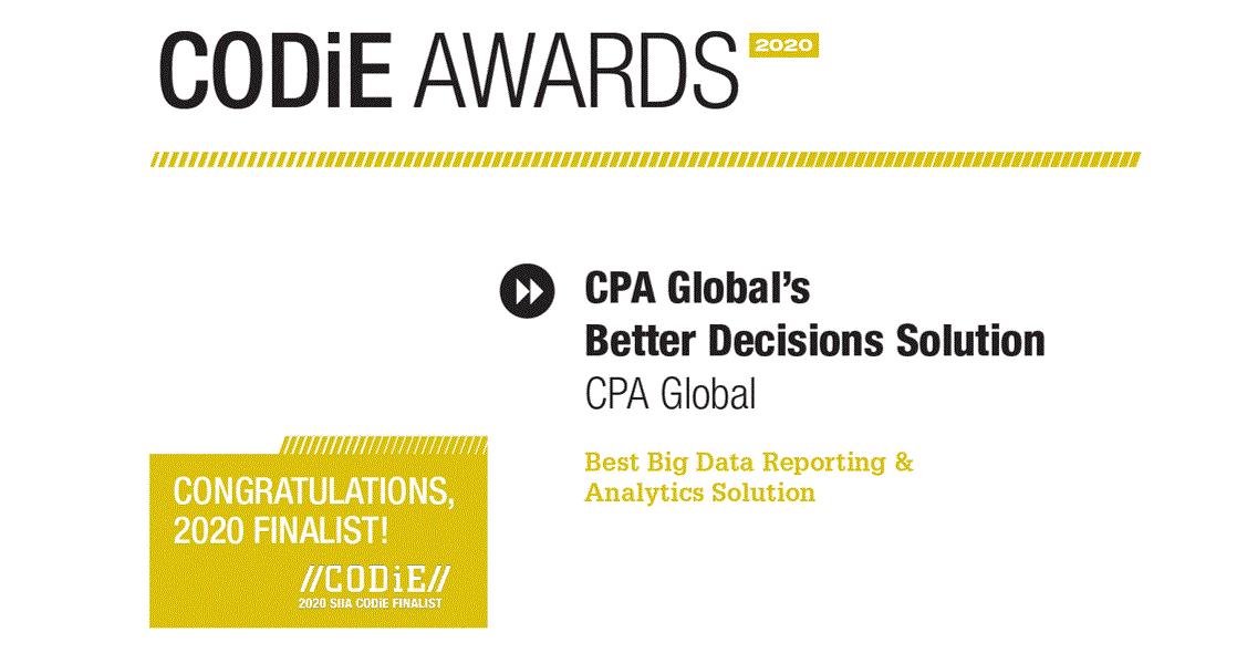 思保环球(CPA Global) 荣获科迪大奖
