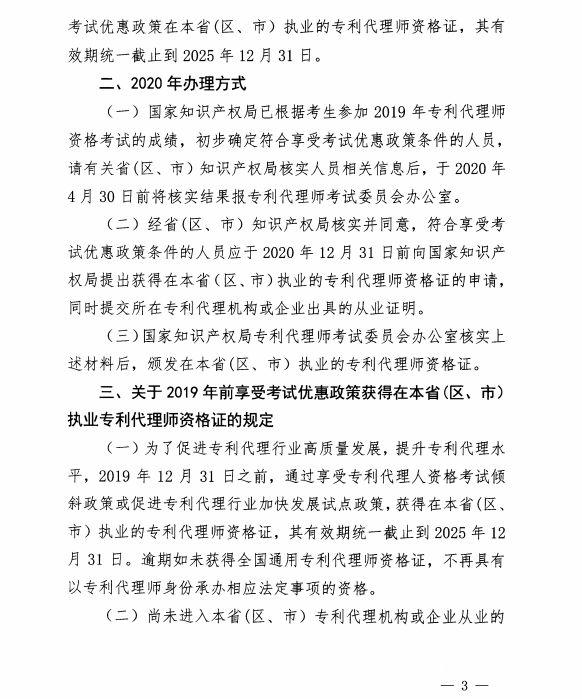 专利代理师资格最新优惠政策11个省(区)可享受!
