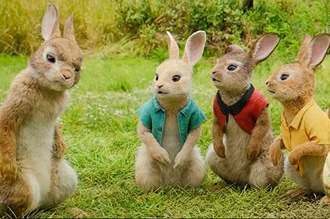 比得兔与菜狗梦幻联动《比得兔2:逃跑计划》6月11日上映