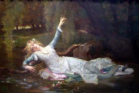 奥菲莉娅:几百年来,被艺术家疯狂打call的女人