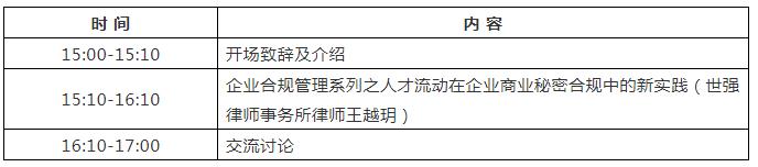首期海外知识产权保护系列主题沙龙即将举办!