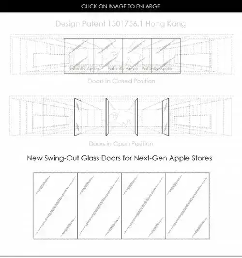 苹果获得新专利设计 这次与Apple Store有关